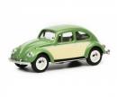 schuco VW Käfer, resedagrün beige, 1:64