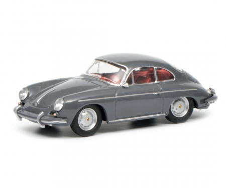 Porsche 356 Carrera Coupé, grey, 1:64