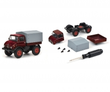 "schuco Edition 1:64 Kit ""Mercedes-Benz Unimog U406"", red, 1:64"