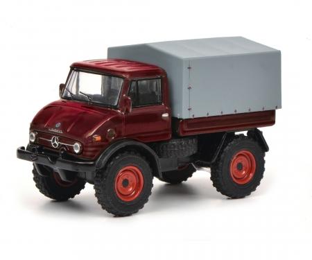 "Edition 1:64 Kit ""Mercedes-Benz Unimog U406"", red, 1:64"