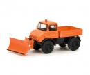 "schuco Unimog U406 ""Winterdienst"", orange 1:64"