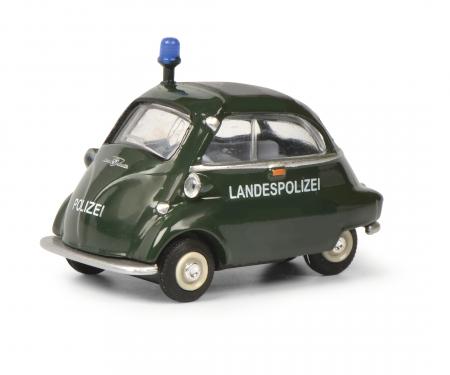 schuco BMW Isetta POLICE 1:64