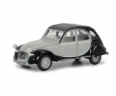 schuco Citroen 2CV grey/black 1:64