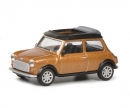 schuco Mini Cooper brown met.1:64
