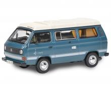 schuco VW T3 Camper blue 1:64