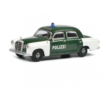 schuco MB 180 D POLICE 1:64