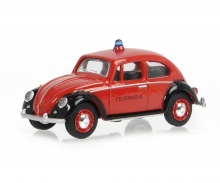 schuco VW Käfer FEUERWEHR 1:64