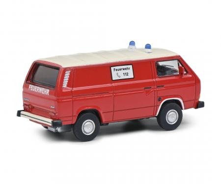 schuco VW T3 FEUERWEHR 1:64