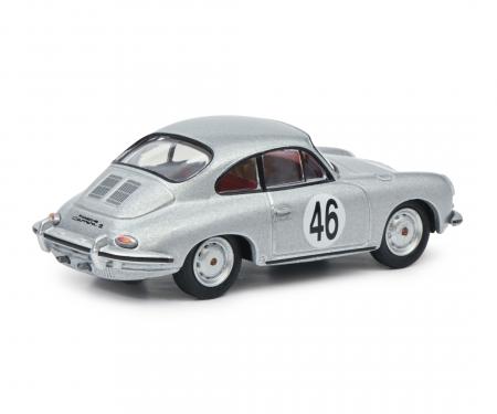 schuco Porsche 356 Coupé silber 1:64