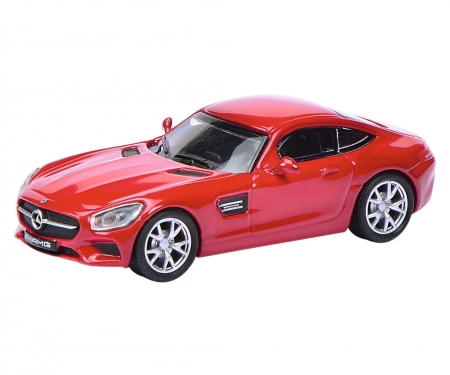 Mercedes-AMG GT S, rot 1:87