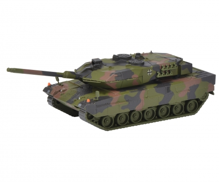 "schuco Leopard 2A6 infantry combat vehicle ""Bundeswehr"", camouflaged 1:87"