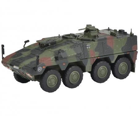 "Boxer infantry transport vehicle ""Bundeswehr"", camouflaged 1:87"