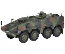 """schuco Boxer Transportpanzer """"Bundeswehr"""", flecktarn 1:87"""