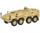 "schuco Boxer infantry transport vehicle ""ISAF"", camouflaged 1:87"