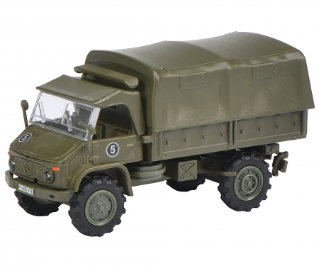 "Unimog S 404 pick up tarpaulin ""Bundeswehr"" 1:87"