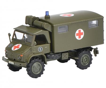 "schuco Unimog S 404 Ambulance ""Bundeswehr"" 1:87"