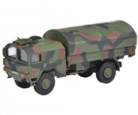 """schuco MAN 5t GL Lkw """"Bundeswehr"""", flecktarn 1:87"""