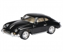 schuco Porsche 356A Coupé, black 1:87