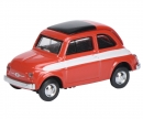 "schuco Fiat 500 ""Rallye"", red 1:87"