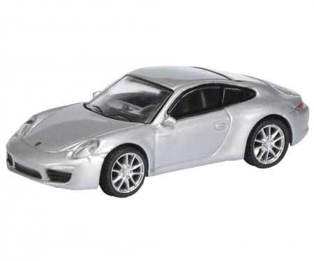 schuco Porsche 911 (991) Carrera S Coupé, silver 1:87