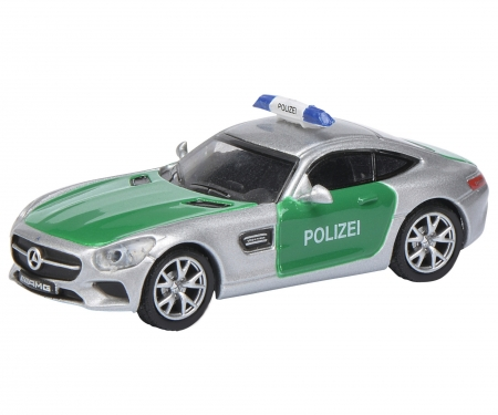 """schuco Mercedes AMG GT S """"Polizei"""" 1:87"""