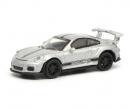 schuco Porsche 911 GT3 RS, silver, 1:87