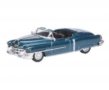 Cadillac Eldorado 1953, blau metallic, 1:87
