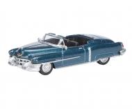 Cadillac Eldorado 1953, blue metallic, 1:87