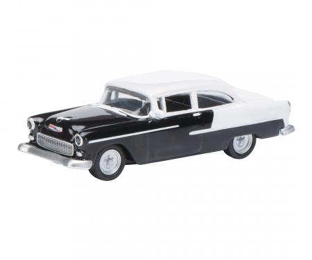 Chevrolet Bel Air, schwarz/weiß, 1:87
