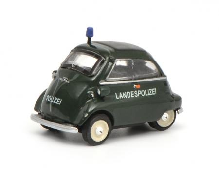 """schuco BMW Isetta """"Landespolizei"""", 1:87"""