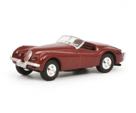 Jaguar XK 120, red, 1:87