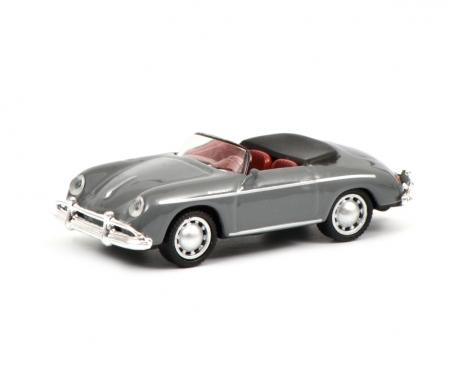 schuco Porsche 356 A Speedster, grey, 1:87