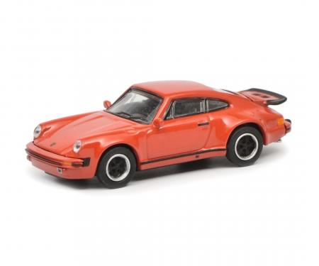 schuco Porsche 911 Turbo (930), red, 1:87