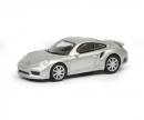 schuco Porsche 911 Turbo S (991), silber, 1:87