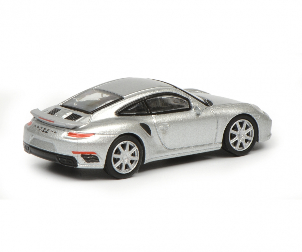 Porsche 911 Turbo S 991 Silver 1 87 Edition 1 87 Car Models
