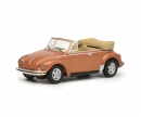 schuco VW Beetle Cabrio, copper, 1:87