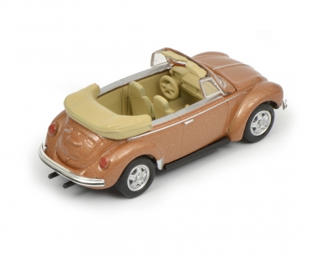 VW Beetle Cabrio, copper, 1:87