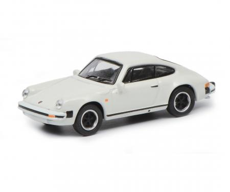 schuco Porsche 911 Carrera 3.2 Coupé, weiß, 1:87