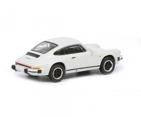 schuco Porsche 911 Carrera 3.2 Coupé, white, 1:87
