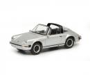 Porsche 911 Carrera 3.2 Targa, silver, 1:87