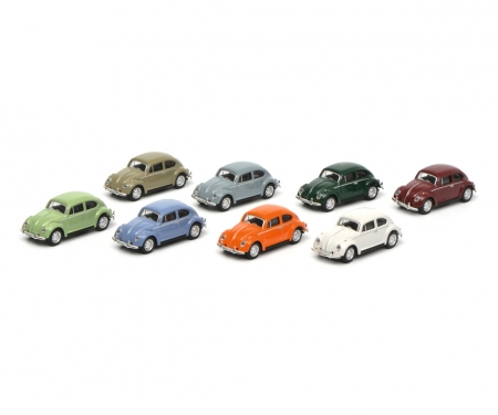 schuco Loading packageg, 8xVW Beetle, 1:87