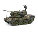 """schuco Gepard Flakpanzer """"Bundeswehr"""", camouflaged, 1:87"""