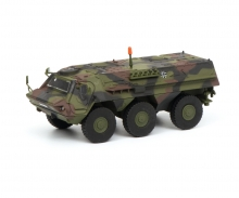 "schuco Fuchs infantry transport vehicle ""Bundeswehr"", camouflaged, 1:87"
