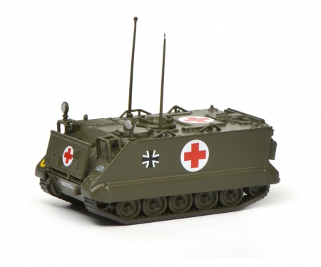 "schuco M113 infantry ambulance vehicle ""Bundeswehr"", 1:87"