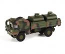 """schuco MAN 5t gl KAT1 tank truck """"Bundeswehr"""", camouflaged, 1:87"""