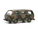 """schuco VW T3 bus """"Bundeswehr"""", camouflaged, 1:87"""