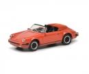 schuco Porsche 911 Carrera 3.2 Speedster, rot, 1:87