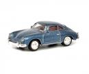 schuco Porsche 356 Coupé, blau 1:87