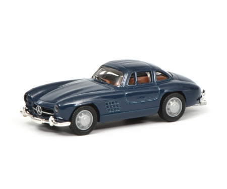 schuco Mercedes-Benz 300 SL, blue 1:87