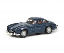 schuco Mercedes-Benz 300 SL, blue 1:87